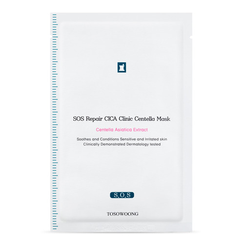 TOSOWOONG Cica Clinic SOS Repair Mask 10sheets