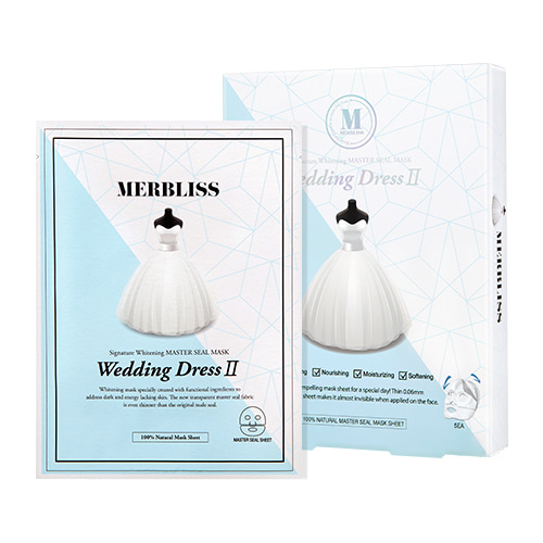 MERBLISS Wedding Dress II Master Seal Mask 5pcs