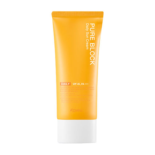 A'PIEU Pure Block Natural Daily Sun Cream SPF45 PA+++ 100ml