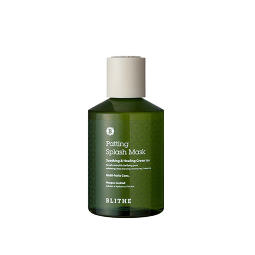 BLITHE Patting Splash Mask Soothing & Healing Green Tea 150ml
