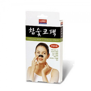 LUKE Charcoal Nose Cleansing Strips 10ea/1box