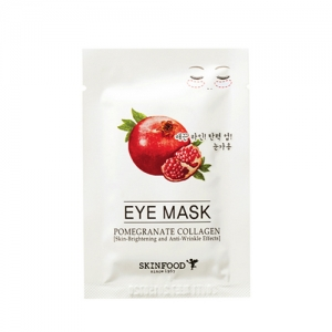 SkinFood Pomegranate Collagen Eye Mask (Skin-Brightening & Anti-Wrinkle) 2 packs