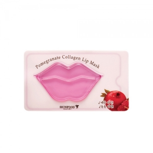 SkinFood Pomegranate Collagen Lip Mask 2ea