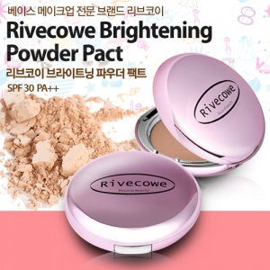 Rivecowe Brightening Powder Pact SPF30 PA++ 12g
