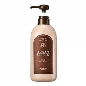SkinFood Argan Oil Silk Plus Shampoo 500ml