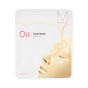 Missha Oil Soak Mask Moisturizing