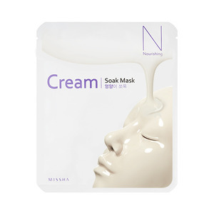 Missha Cream Soak Mask Nourishing
