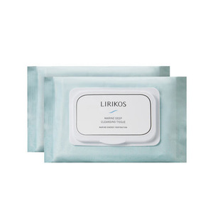 LIRIKOS MARINE DEEP CLEANSING TISSUE 30 sheets * 2ea