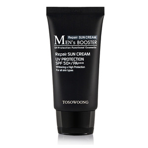 TOSOWOONG Men's Booster Sun Cream SPF50+ PA+++ 45ml