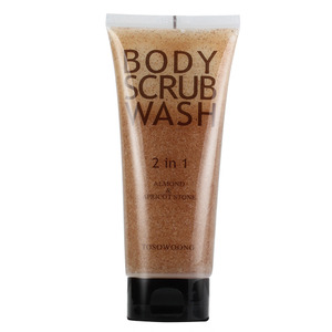TOSOWOONG Perfume Almond Body Scrub Wash 160g