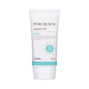 A'PIEU Pure Block Aqua Sun Gel SPF50+ PA+++ 50ml