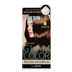 the SAEM Silk Hair Glam Color Bubble