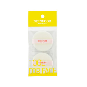 SkinFood Mini Powder Pact Puff 2ea