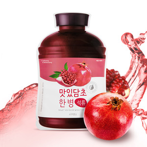 A'PIEU Fruit Vinegar Sheet Mask Pomegranate 5ea