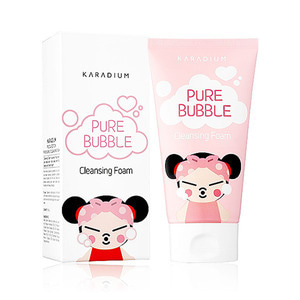KARADIUM PUCCA EDITION PURE BUBBLE CLEANSING FOAM 150g