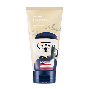 Missha Beyond Closet Edition Super Seed Cleansing Foam Blueberry 150ml