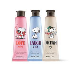 innisfree Snoopy LTD Jeju Life Perfumed Hand Cream 30ml