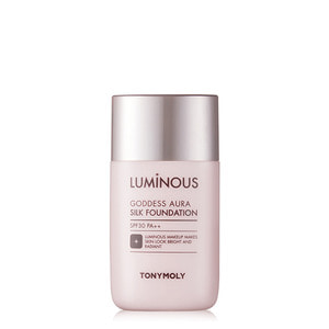 TONYMOLY Luminous Goddess Aura Silk Foundation SPF30 PA++ 45ml