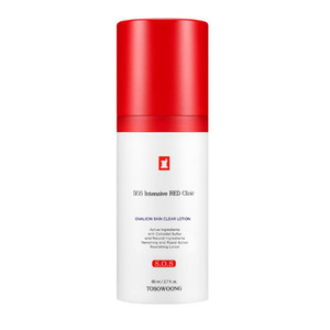 TOSOWOONG SOS Intensive RED Clinic Ovalicin Skin Clear Lotion 80ml