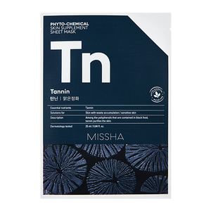 MISSHA Phyto-Chemical Skin Supplement Sheet Mask Tn 25ml