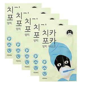 A'PIEU Chi Ka Po Ka Tooth Brushing Mask 17g *5ea