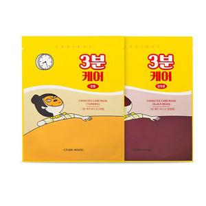 ETUDE HOUSE Drawing 3 Minutes Care Pack Mask Sheets