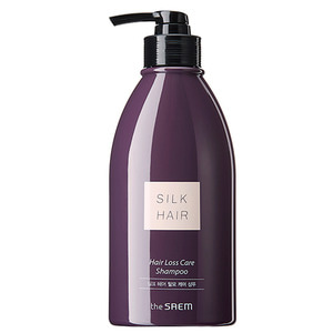 the SAEM Silk Hair Loss Care Shampoo 320ml