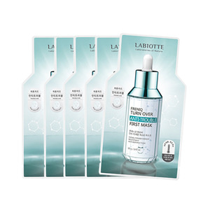 LABIOTTE Freniq Turn Over First Mask 5ea #Anti-Trouble