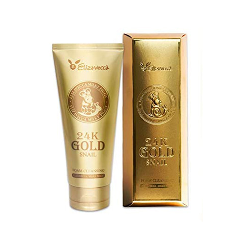 Elizavecca 24k gold snail Cleansing Foam 180ml