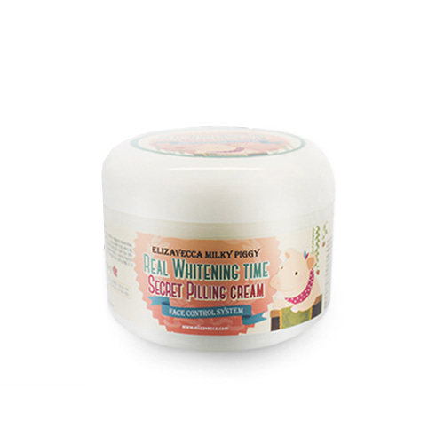 Elizavecca Milky Piggy Real Whitening Time Secret Pilling Cream 100g