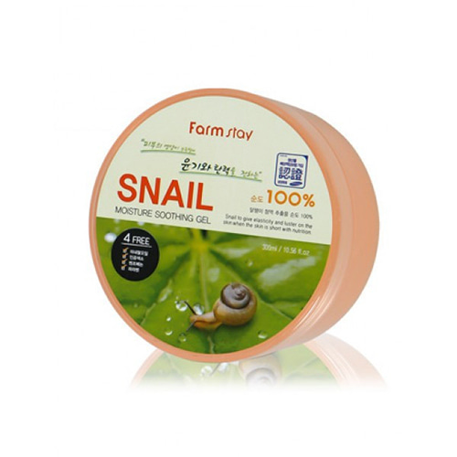 Farmstay Moisture Soothing Gel Snail 300ml
