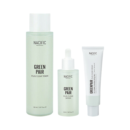 NACIFIC Green Pair Plus Clear Set