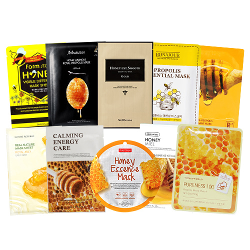 Mask Sheet Trial Kit (Honey & Propolis)